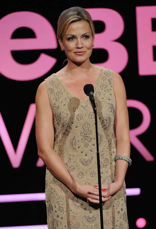 Michelle Beadle speaks on stage at the 17th Annual Webby Awards at Cipriani Wall Street on May 21, 2013, in New York City. Photo: Bryan Bedder / Getty Images / 2013 Getty Images