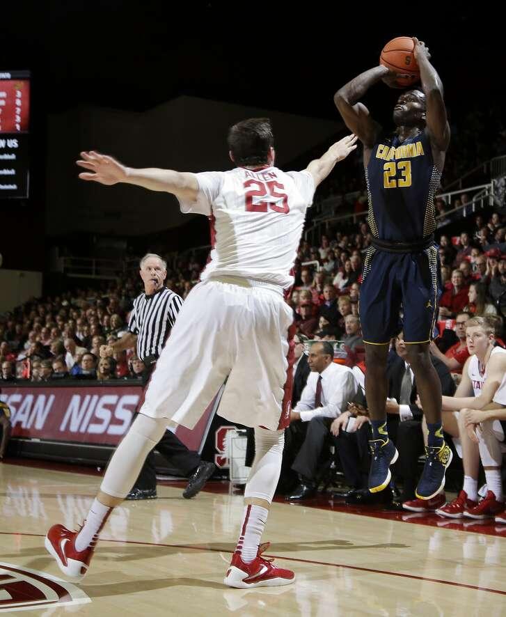 California guard Jabari Bird (23) during an NCAA college basketball game against Stanford Thursday, Jan. 14, 2016, in Stanford, Calif. (AP Photo/Marcio Jose Sanchez)