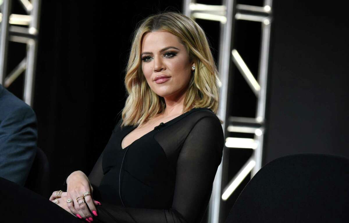 Khloe Kardashian participates in the panel for