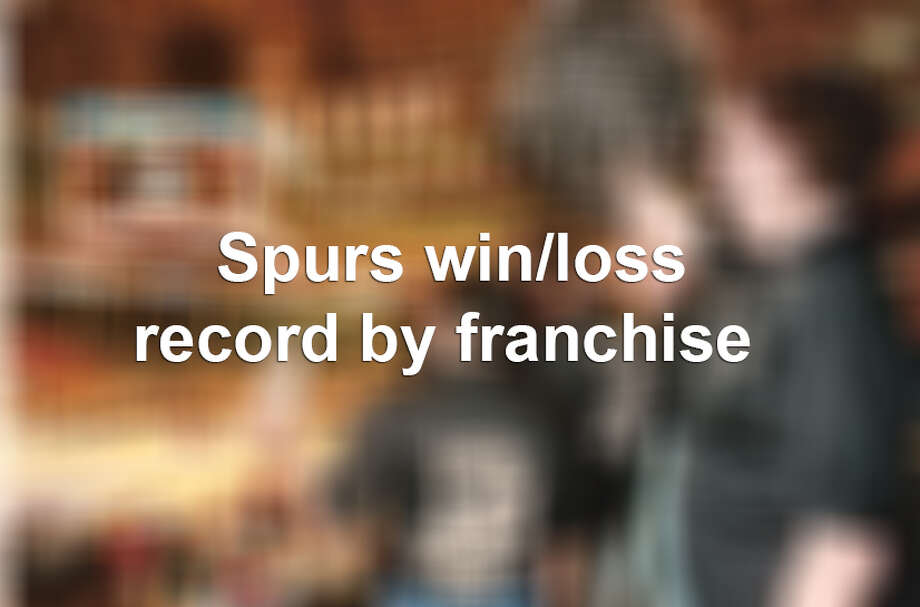 Spurs have a winning record against every team in the league, but one.
