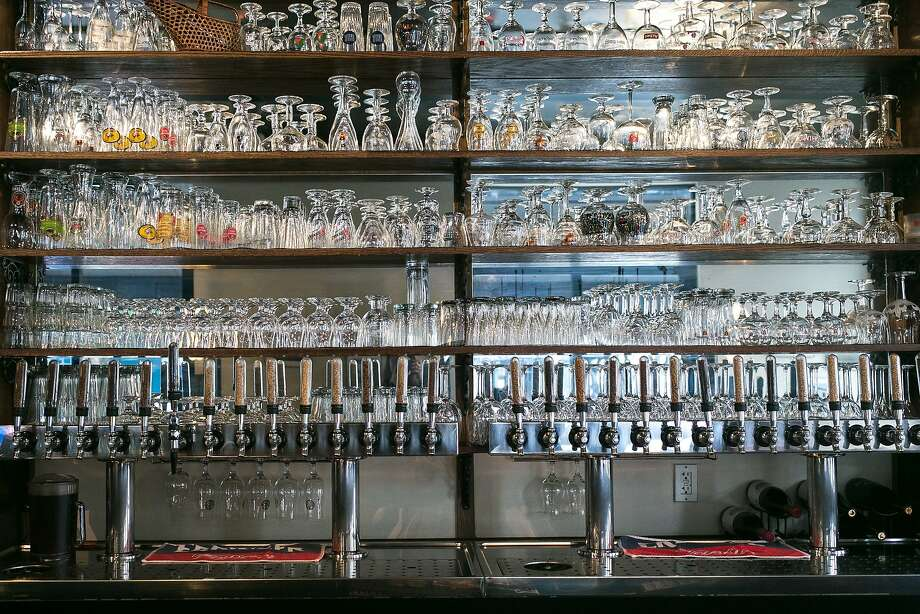 The taps and glasses at Monk's Kettle. Photo: Jen Fedrizzi, Special To The Chronicle