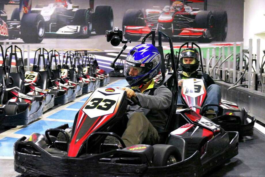 Andretti Indoor Karting Races Ahead Of The San Antonio