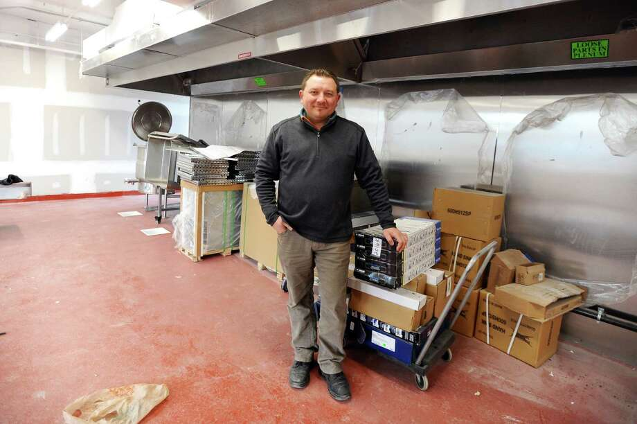 "Peter Mamadjanian, owner of the soon-to-open Flavorism, a new culinary ""hive"" in Stamford that will give chefs an outlet to showcase their work. Flavorism hopes to be open by the end of the month. Photo: Michael Cummo / Hearst Connecticut Media / Stamford Advocate"