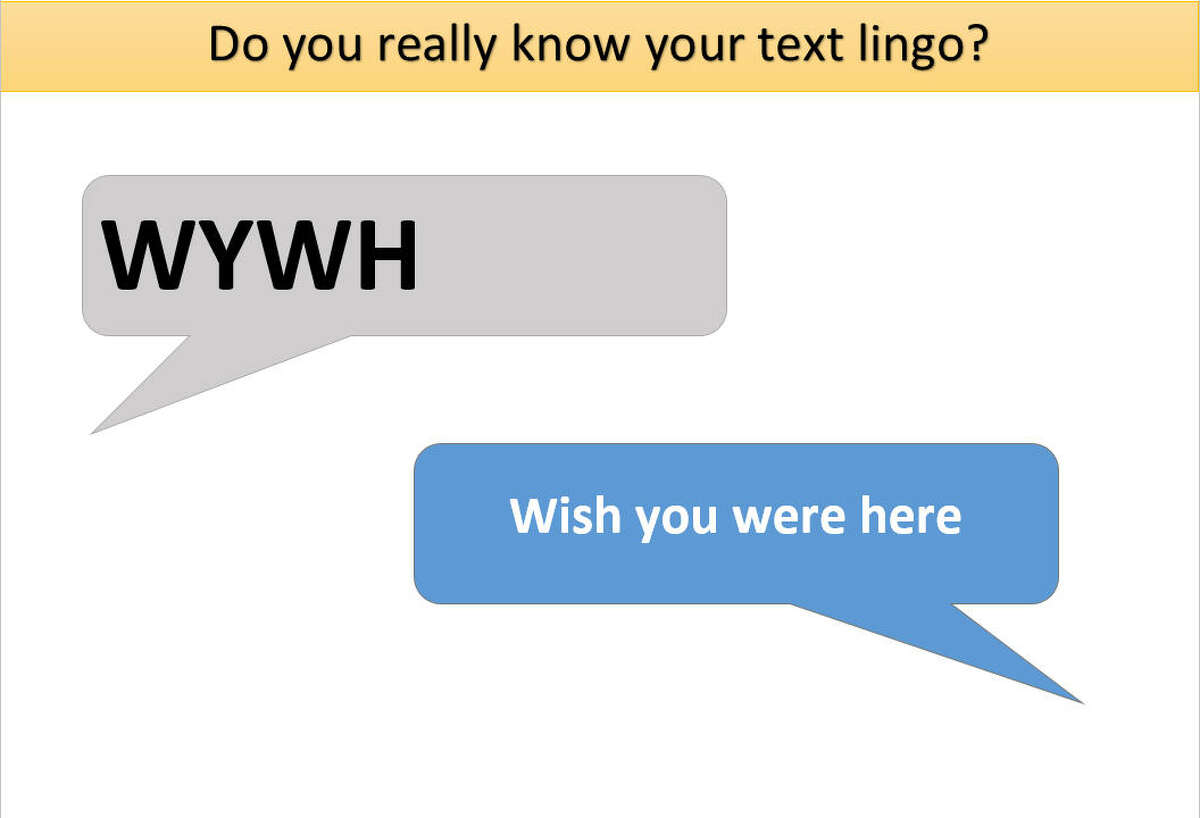 How well do you know your texting lingo? Take our quiz!
