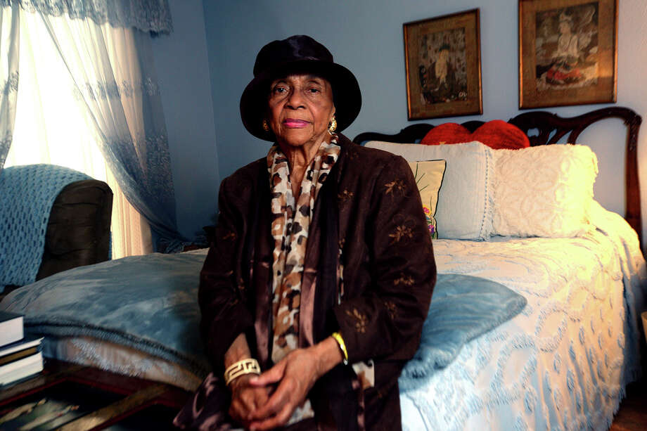 Hargie Faye Savoy met privately with Coretta Scott King in the bedroom of her Port Arthur home in 1986. While at a brunch at the house, Mrs. King requested the meeting to ask if Mrs. Savoy would help create a Friends of Martin Luther King, Jr., Support Group in the area to help carry on Dr. King's work for nonviolence. Mrs. Savoy and Mrs. King went on to become friends, as well as colleagues in the movement to continue Dr. King's legacy.  Photo taken Friday, January 15, 2016  Kim Brent/The Enterprise Photo: Kim Brent / Beaumont Enterprise