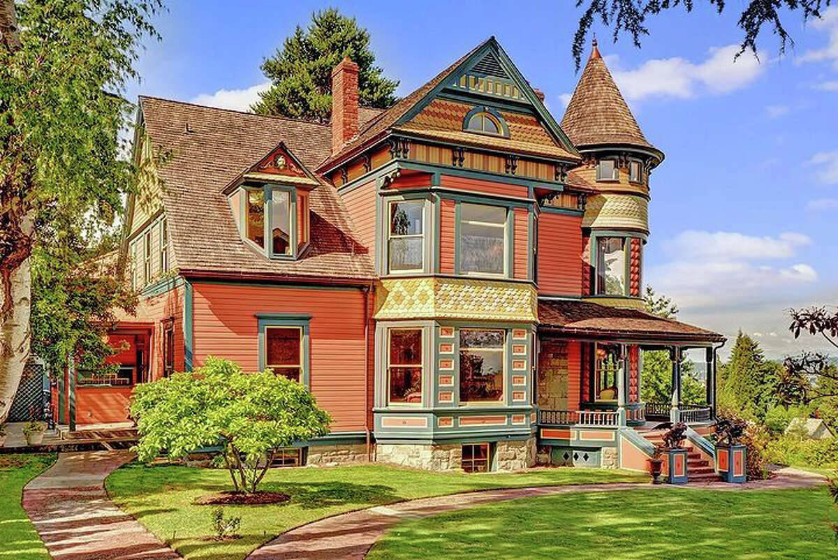 You would expect Charles Dickens to be on the front porch of this Madrona home, putting the finishing touches on