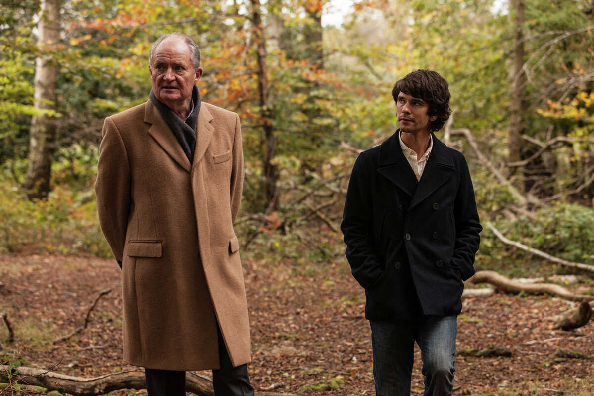 """Scottie (Jim Broadbent, left) is a retired British spy and something of a father figure to Danny (Ben Whishaw) in """"London Spy."""""""