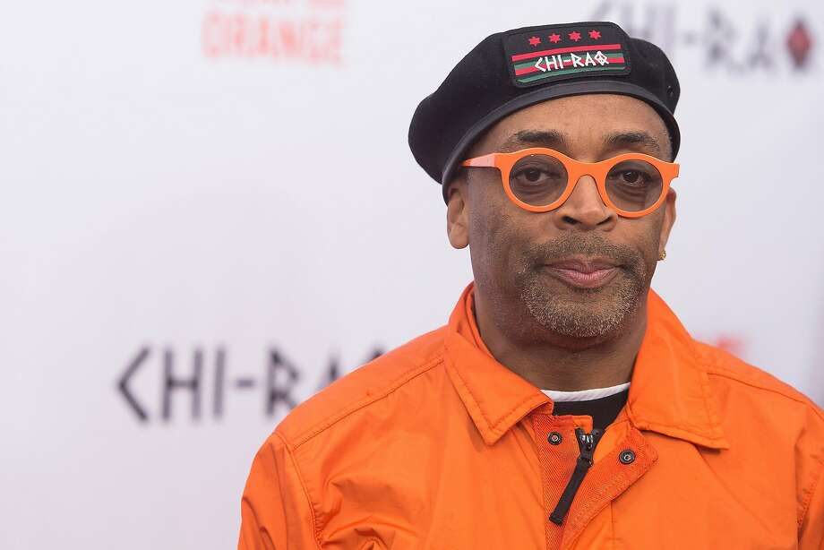 Director Spike Lee called for a boycott of the Oscars, but says the real guilt for excluding blacks lies in executive offices. Photo: Charles Sykes, Associated Press