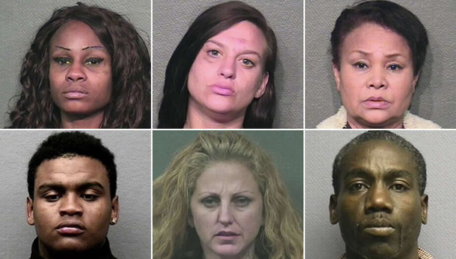 Houston felony prostitution arrests for December 2015These subjects are among those arrested by Houston Police in December 2015 and charged with felony prostitution. Photo: Houston Police Department