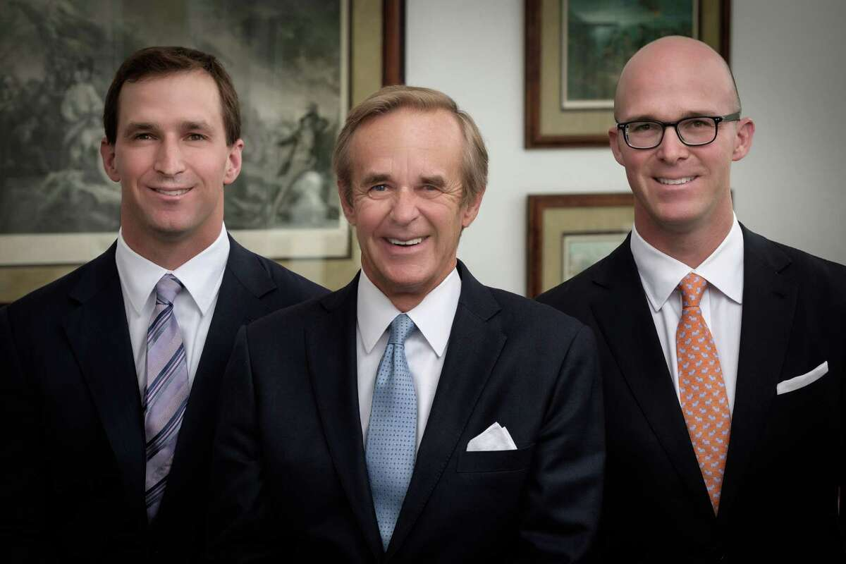 From left, Ryan Raveis, co-president, of William Raveis Inc., and president of William Raveis Mortgage; Bill Raveis, chairman and CEO of William Raveis Inc.; and Chris Raveis, co-president, of William Raveis Inc. and president of residential sales.
