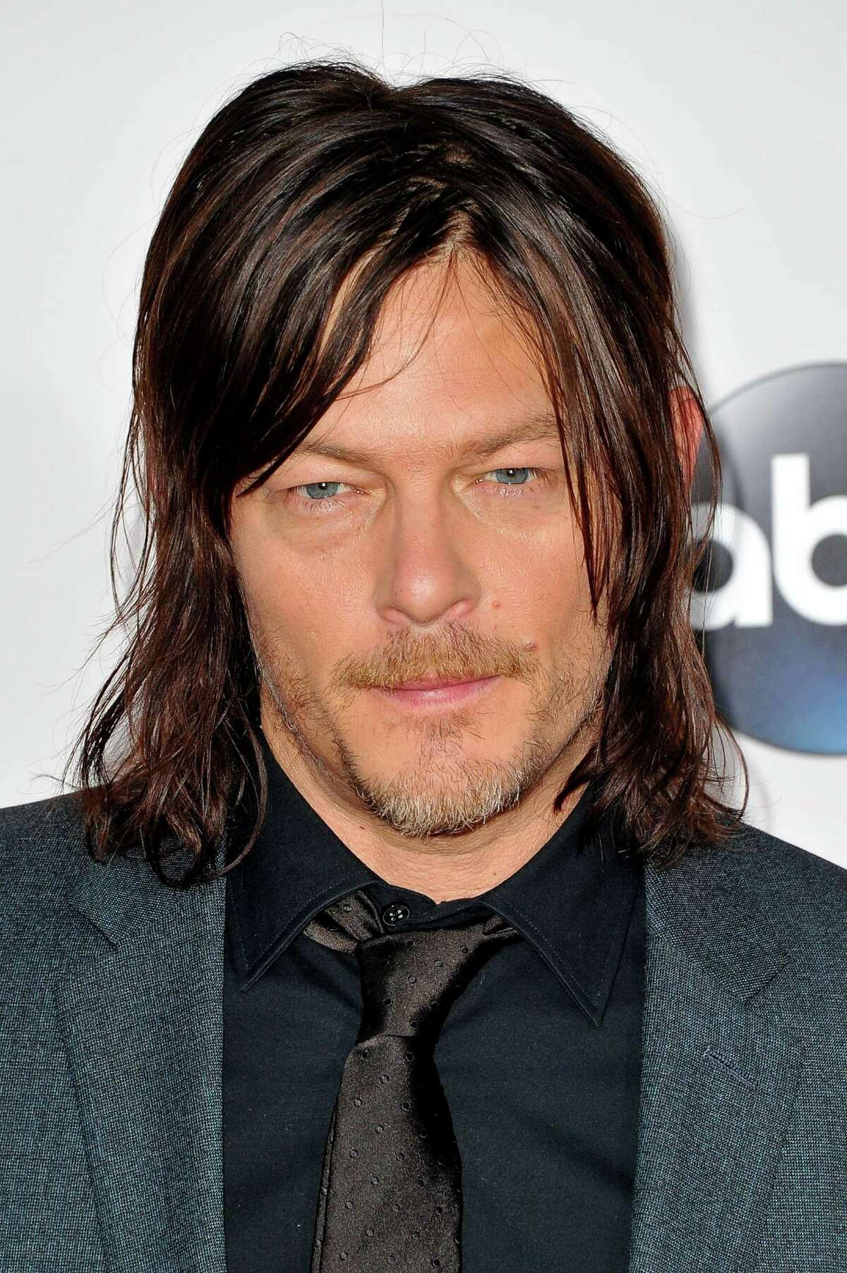 Actor Norman Reedus arrives at the 2015 American Music Awards at Microsoft Theater on November 22, 2015 in Los Angeles, California.