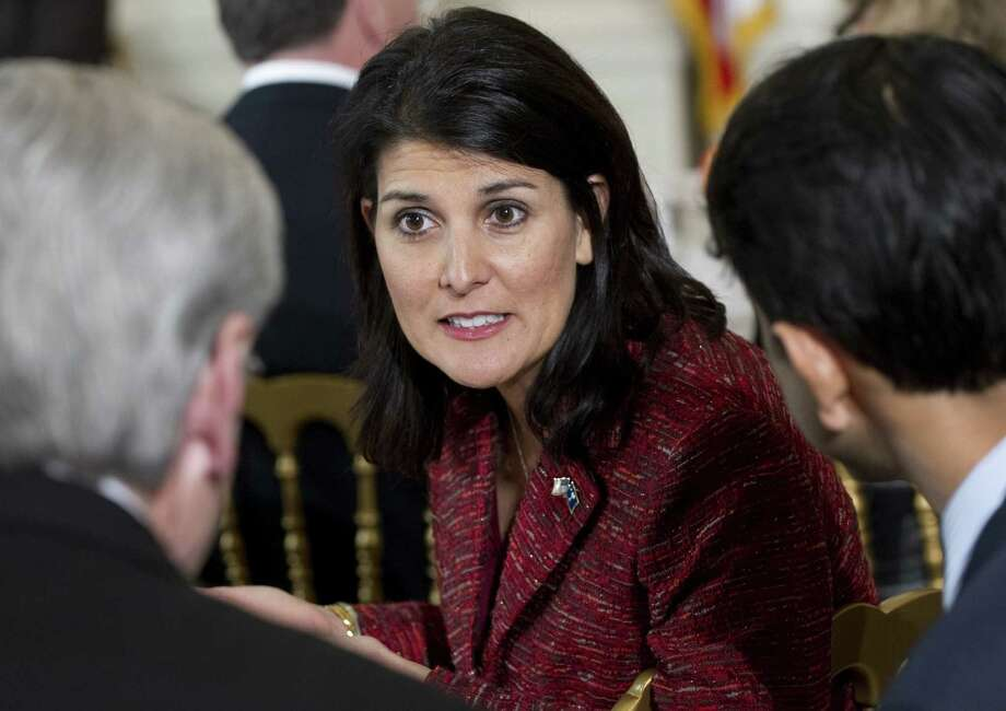 South Carolina Gov. Nikki Haley made a calculated gamble last when she criticized her own party as she gave the Republican response to President Obama's State of the Union speech. Her words were brave, necessary and true. Photo: SAUL LOEB /AFP / Getty Images / AFP