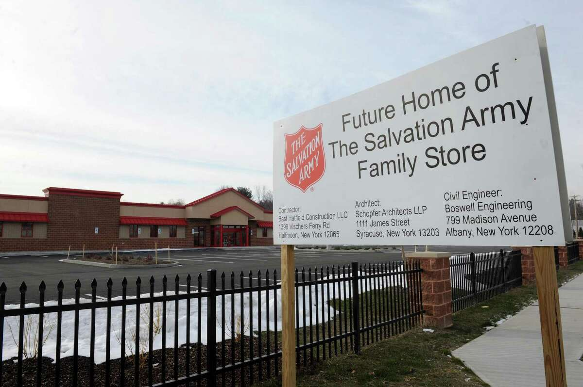 New Salvation Army store close to completion Route 2 between Swatling, Delatour Roads on Friday Jan. 8, 2016 in Latham, N.Y. (Michael P. Farrell/Times Union)