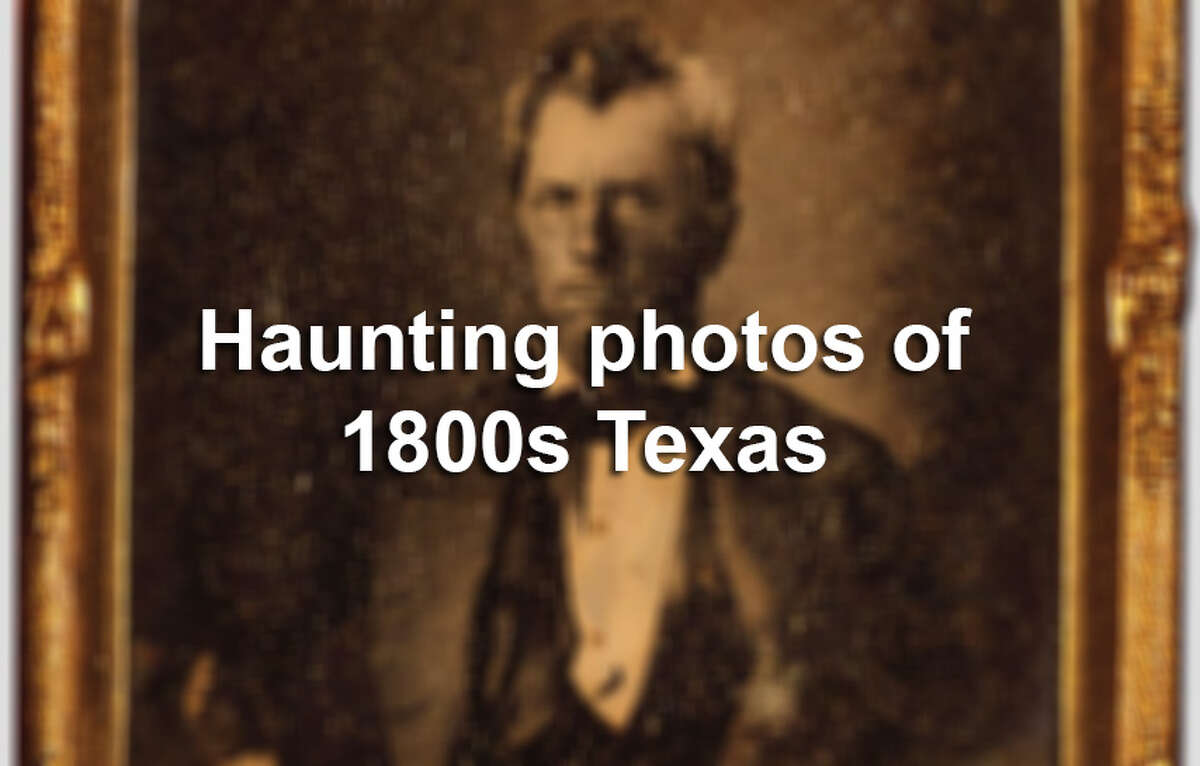 """""""Texas in Focus: Early Photographs from the State Archives"""" - provides an unprecedented look at everyday life during the 1800s in Texas."""