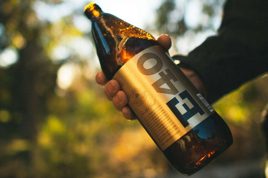 Rapper E-40's brew arrives in 24-ounce cans and 40-ounce bottles, above. Photo: Phil Emerson