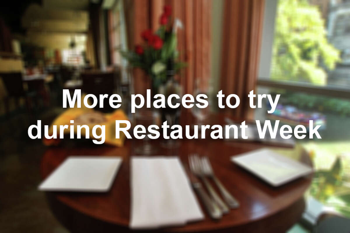 A number of places participate in Restaurant Week, year after year. Here's a looking at who's returning.