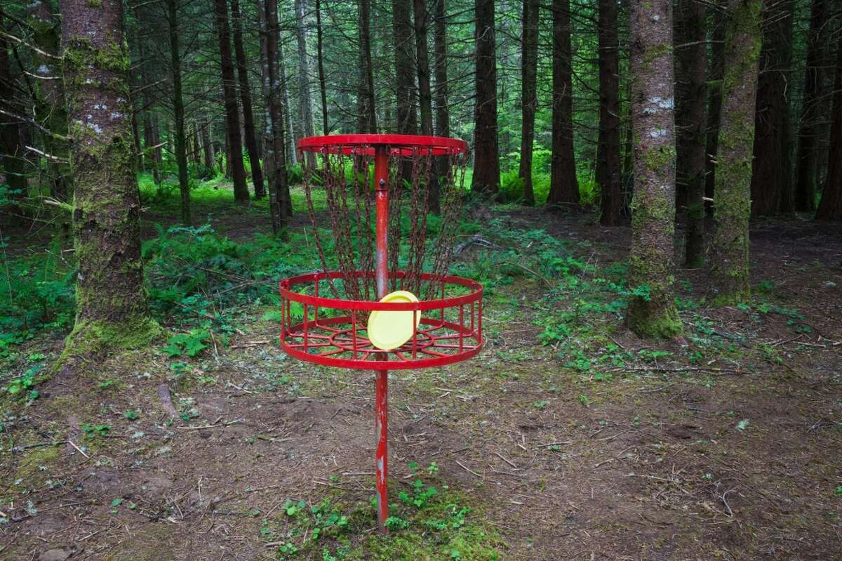 Frisbee golf, or disc golf uses the same scoring technique as golf.Creator of Frisbee golf Edward Headrick's wanted his ashes used in making some Frisbees.
