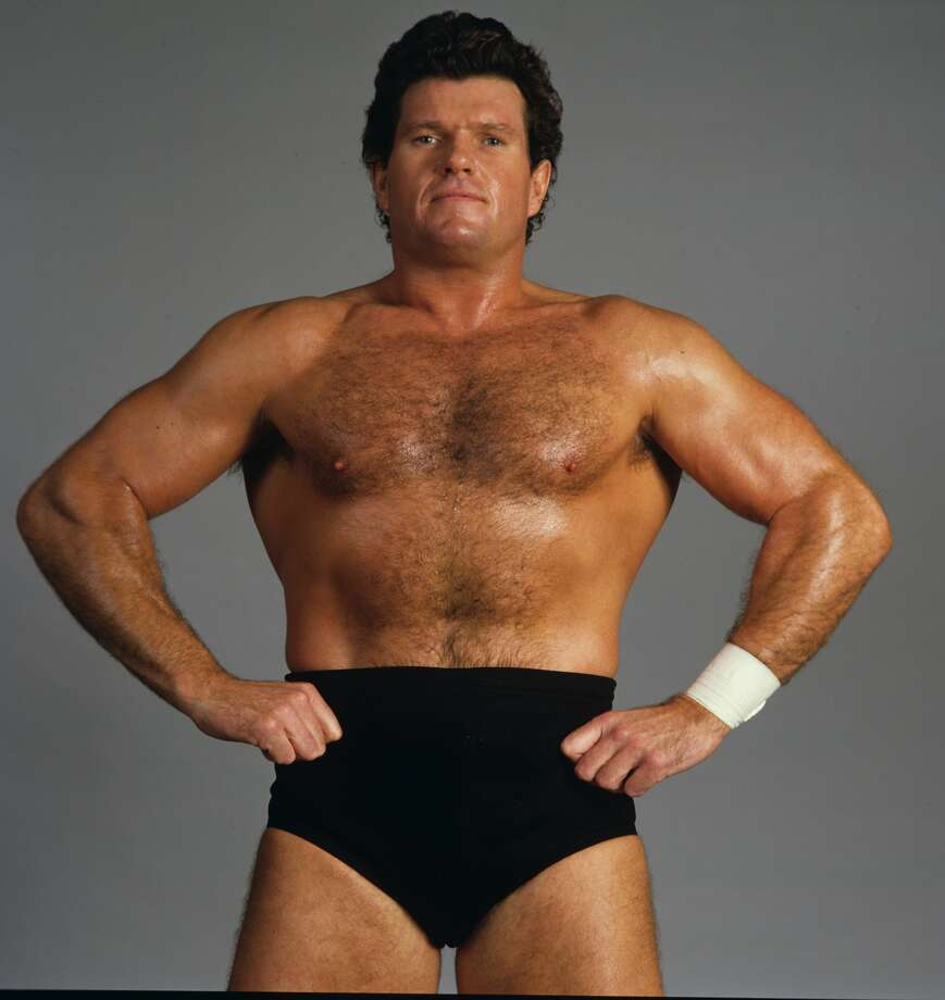 """""""Iron"""" Mike Sharpe, who was billed as """"Canada's Greatest Athlete"""" during his run in the WWE, has died. He was 64. (Photo courtesy WWE)Click through the gallery to see pro wrestlers who died at a young age."""