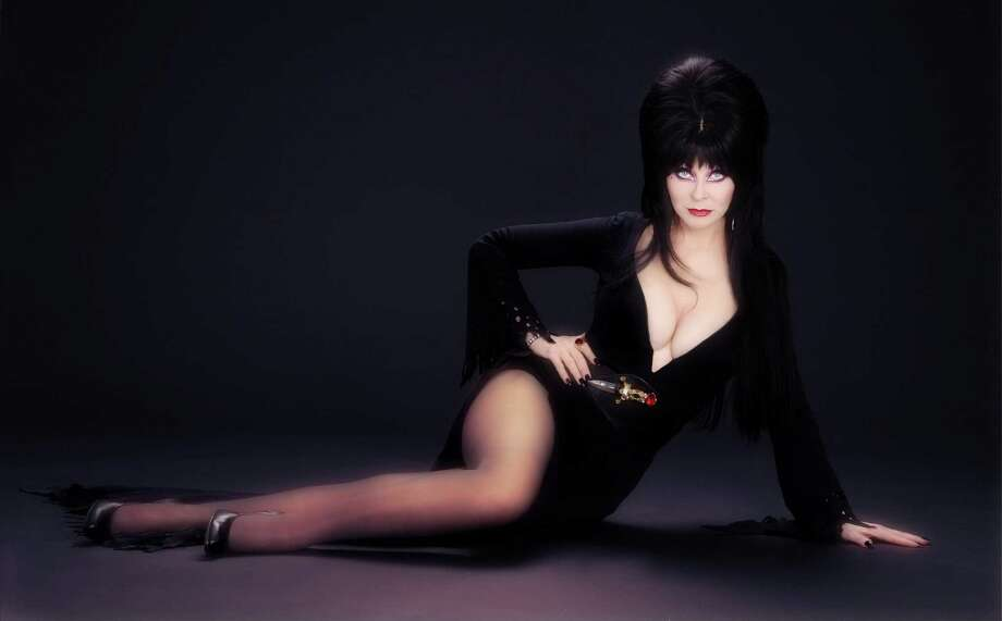 Elvira, Mistress of the Dark. The legendary horror hostess returns to San Antonio for the first-ever Terror Expo, Jan. 22-24, 2016, at the Convention Center. Photo: David Goldner / David Goldner