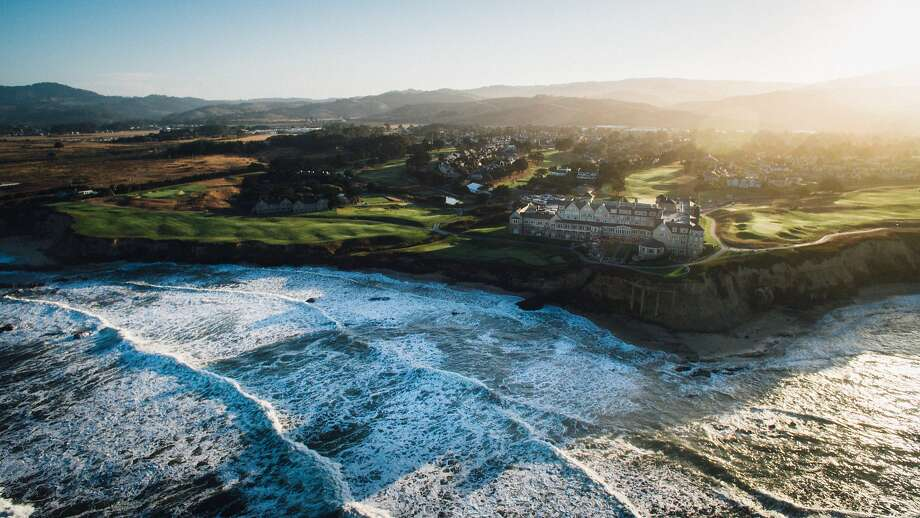 The Ritz-Carlton in Half Moon Bay was captured by Daniel Bowen, owner of Matter Video, who flew a drone equipped with a built-in camera to document the stunning natural surroundings. Photo: Matter Video