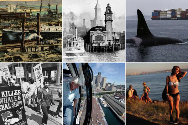 Click through for a look back at Seattle's waterfront.