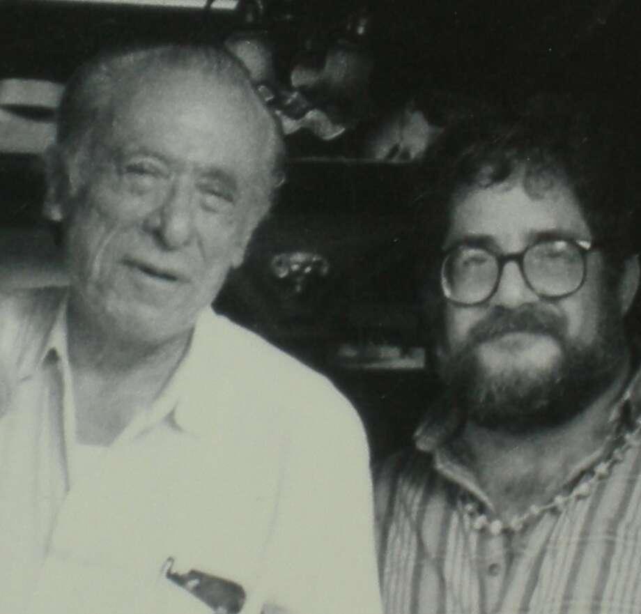 Bukowski with Cherkovski Photo: Courtesy Ben Sykes