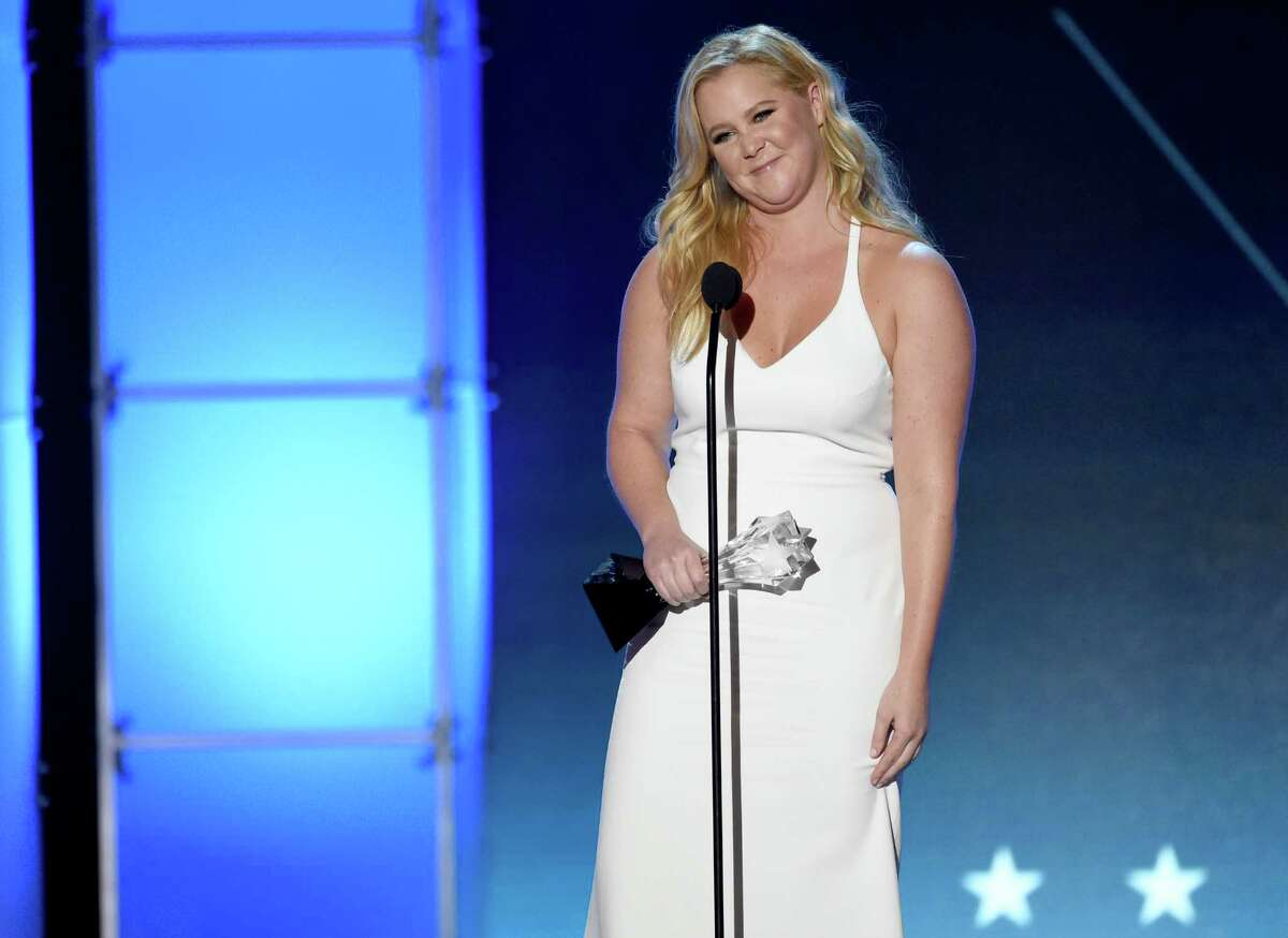 Amy Schumer accepts the Critics?' Choice MVP award at the 21st annual Critics' Choice Awards at the Barker Hangar on Sunday, Jan. 17, 2016, in Santa Monica, Calif. (Photo by Chris Pizzello/Invision/AP) ORG XMIT: CACJ275