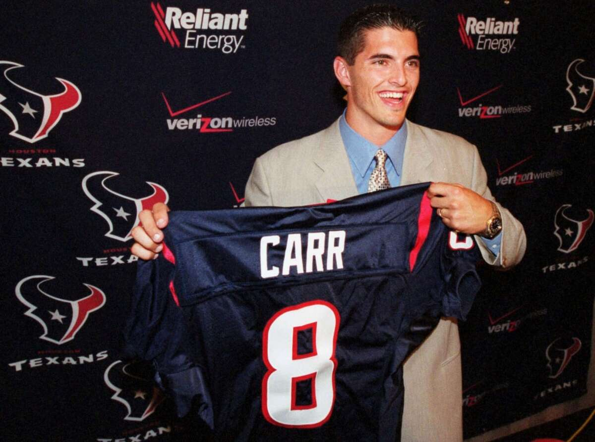 2002: David Carr, HoustonRound/overall pick: 1/1 Years in NFL: 2002-12 Record as starter: 23-56 Playoff record: None