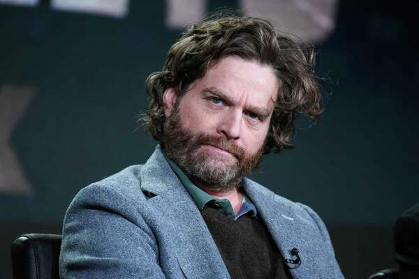 """Actor/creator/executive producer Zach Galifianakis participates in the """"Baskets"""" panel at the FX Networks Winter TCA on Saturday, Jan. 16, 2016, in Pasadena, Calif. (Photo by Richard Shotwell/Invision/AP)"""