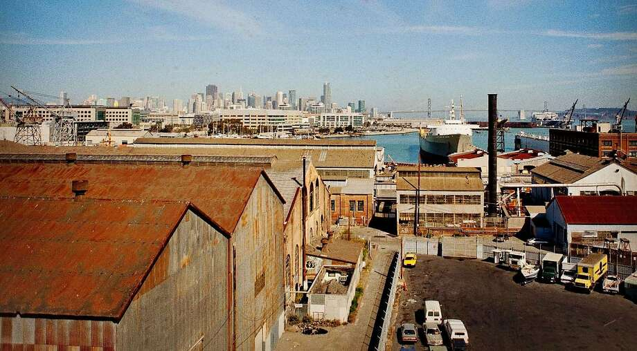 Pier 70 in San Francisco, site of some Super Bowl 50 events. Photo: Pier70sf.com