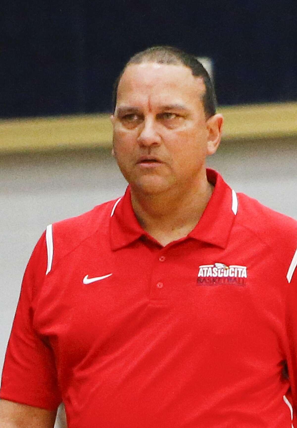 Atascocita head basketball coach David Martinez.