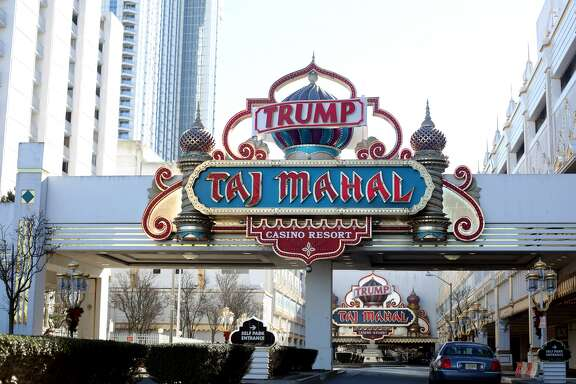 The Trump Taj Mahal, seen in Atlantic City, NJ, on January 06, 2016.