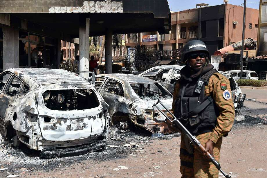 Burkina Faso attack: 'Three suspects at large'