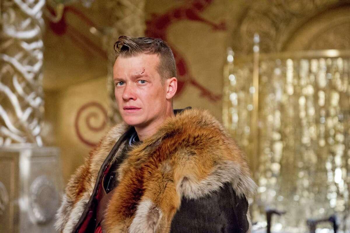 """Ed Speleers as Slean in """"Beowulf."""""""