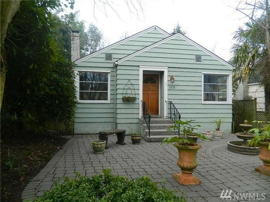The first home, 1731 44th Ave. S.W., is listed for $499,999. The three bedroom, 1.75 bathroom home features a custom-built fireplace and an expansive back deck. It's also just a short walk to Alki beach.  You can see the full listing here. Photo: Marci Patton