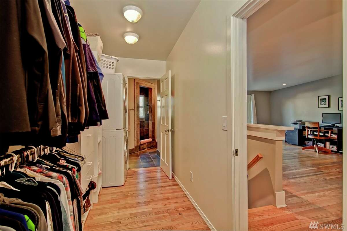 Use the other half of that closet And sometimes the whole closet, just so you can wear enough layers.