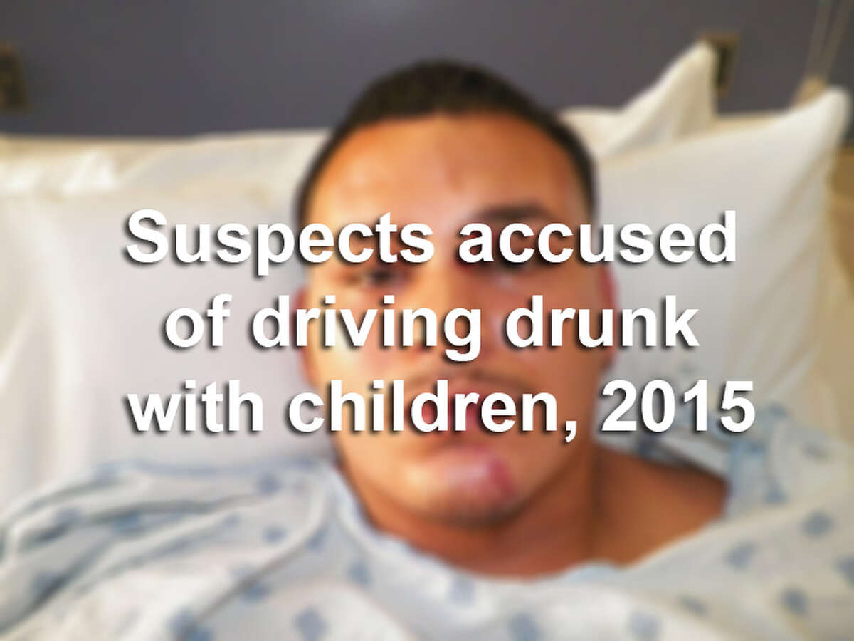 Scroll through the slideshow to see suspects arrested in 2015 on state jail felony charges of driving while intoxicated - with child passenger under 15 years old.