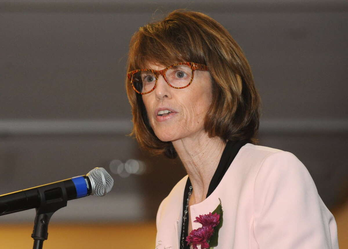 Emma Williard Head of School Trudy Hall in May 2015. (Times Union archive)