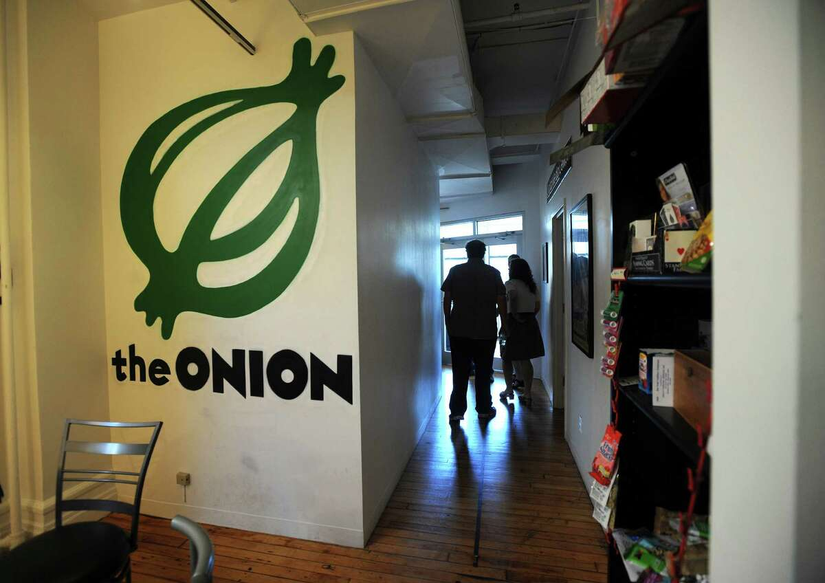 The Spanish-language media giant Univision Communications announced Tuesday it had acquired a large stake in The Onion. A person briefed on the deal said the transaction was said to be for a 40 percent stake, valued at less than $200 million.