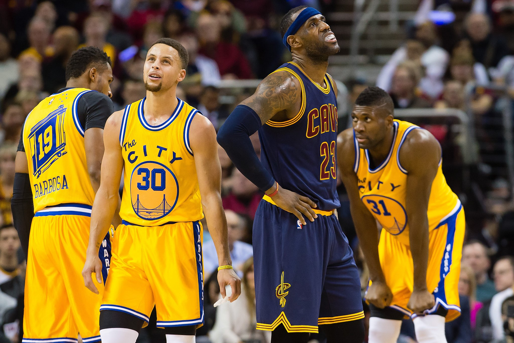 Warriors\' thrashing of Cavs shakes Cleveland, Eastern Conference ...