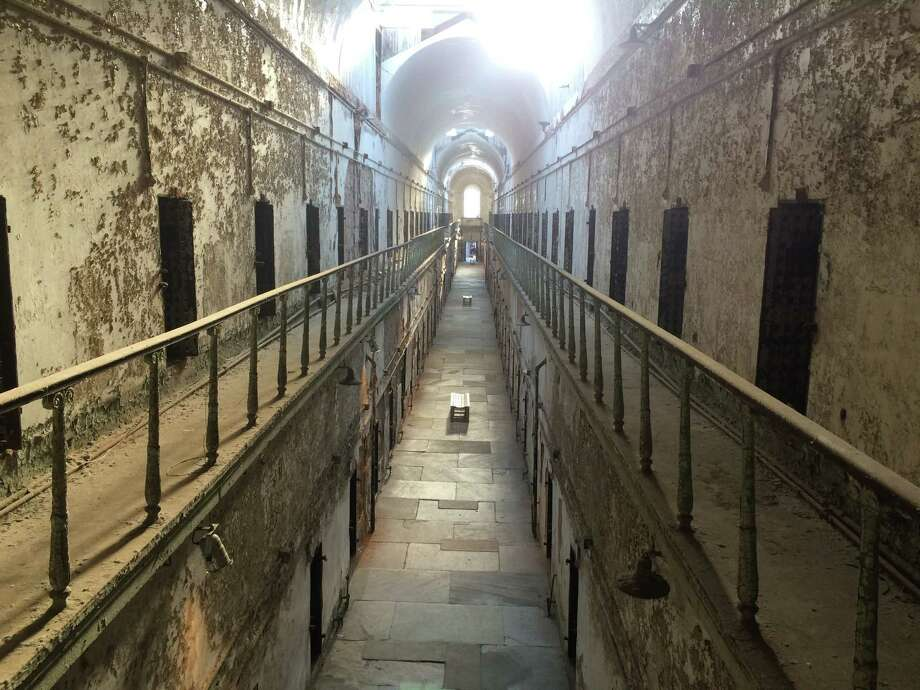Philadelphia's Eastern State Penitentiary, one of the world's most famous prisons, took its first prisoner in 1829. Photo: David Brown, Washington Post / For The Washington Post