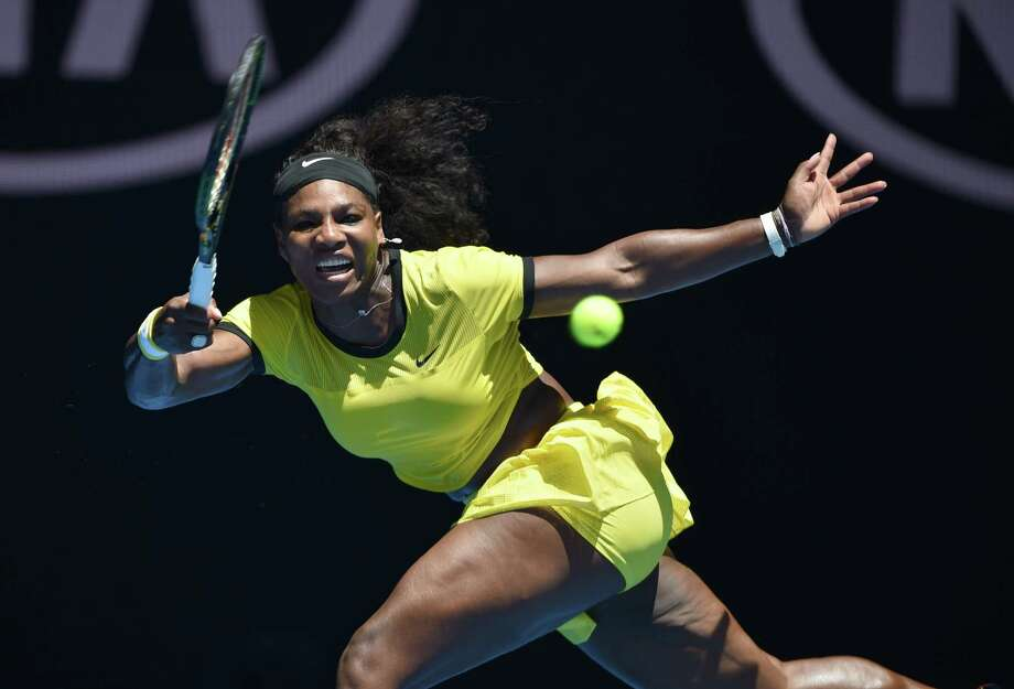 Serena Williams had a brief workout in the form of a 6-1, 6-2 victory over Hsieh Su-wei on Wednesday. Photo: PETER PARKS, Staff / AFP
