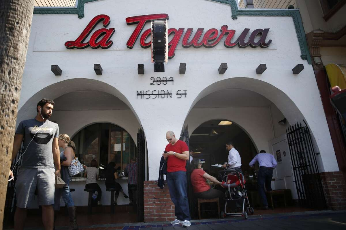 La Taqueria in the Mission is considered by many to be the best burrito in S.F. (and even the country, according to FiveThirtyEight's burrito bracket).