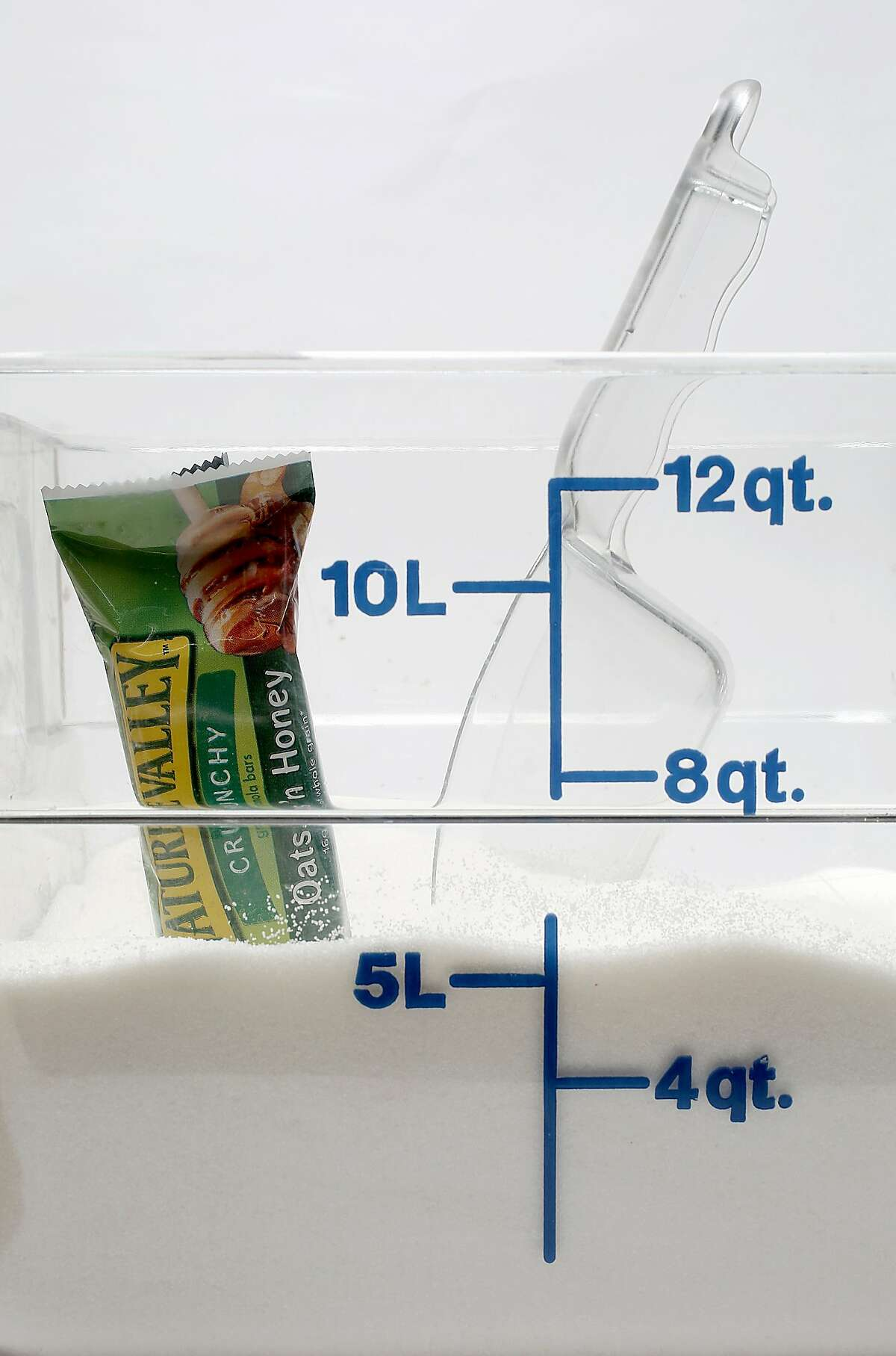 You'll consume 20 cups of added sugar if you eat a serving of Nature Valley Oats and Honey Crunchy Granola Bars every day for a year.