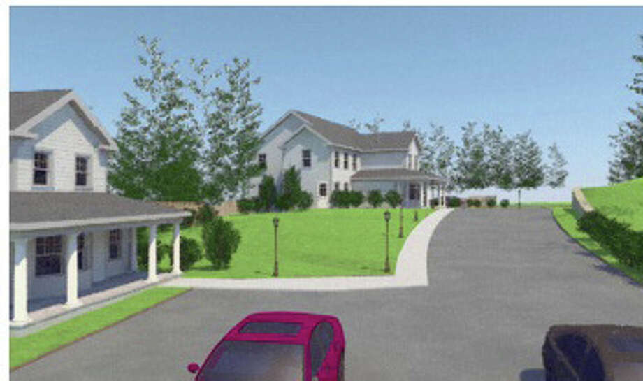 An early rendering of a proposed development at 26 East Lane to serve as housing for adults as special needs. Photo: Contributed / Contributed Photo / Darien News