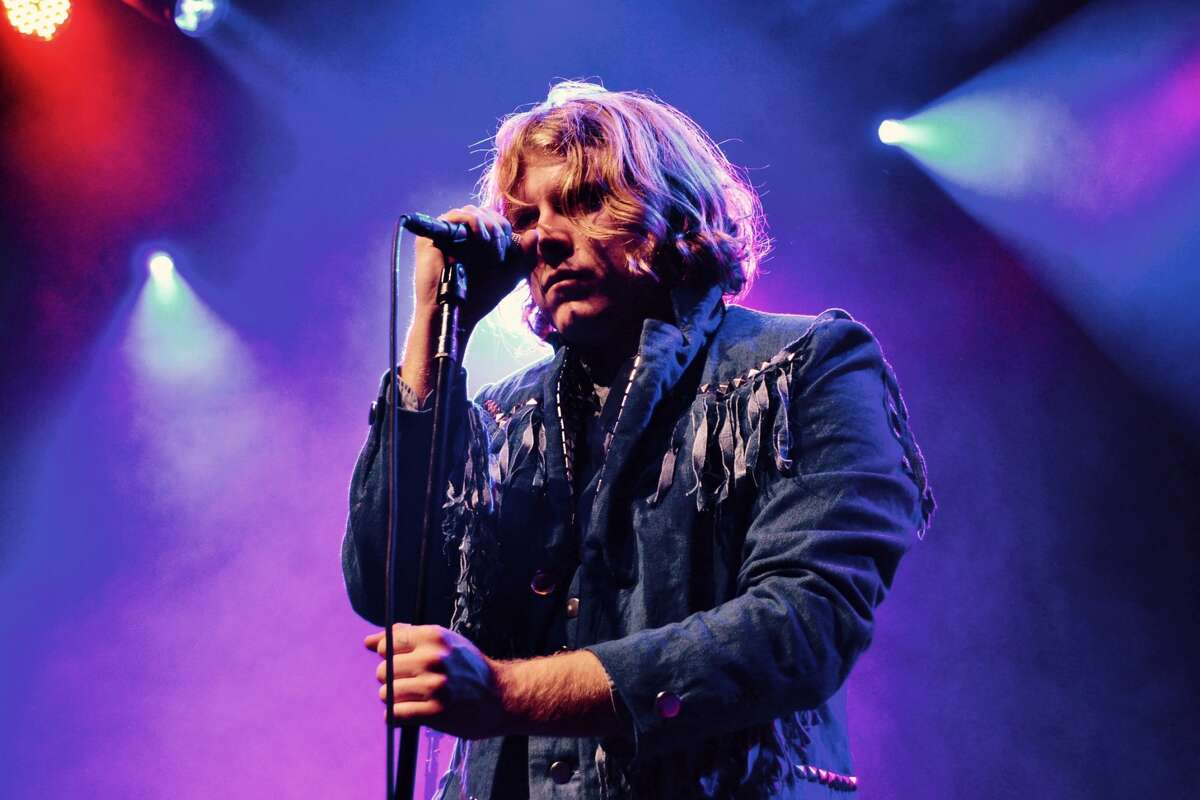 Ty Segall plays at the Fillmore in San Francisco with his band The Muggers, on January 19. 2016.