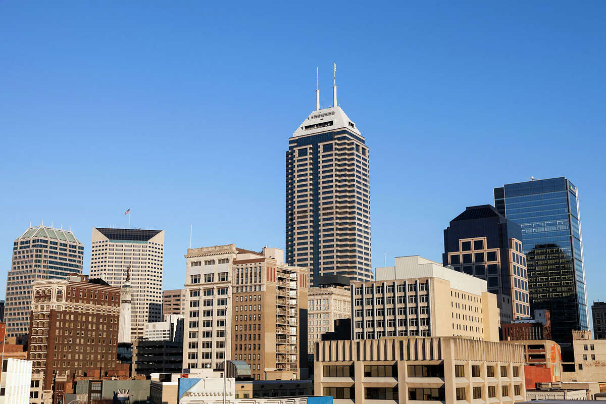 22. Indianapolis, Indiana Percent of paycheck for rent: 25 percent Median net income: $34,820 Median 1 bedroom rent: $726