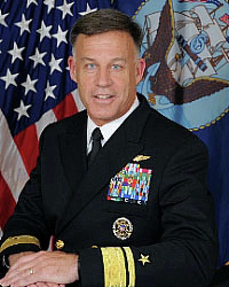 Rear Adm. Sean Buck will be the keynote speaker at the annual meeting and dinner of The Western CT Council of the Navy League of the United States. Photo: Contributed Photo / Darien News