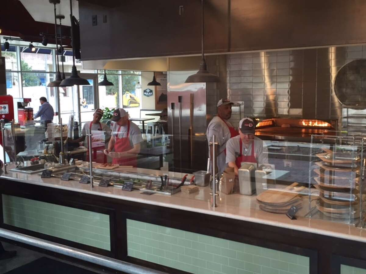 Your Pie has opened its first location in Texas at the SkyHouse apartments at 1625 Main in downtown Houston. The restaurant serves made-to-order brick-oven pizzas, paninis, salads, craft beers and boutique wines. Franchisee Cindy Thomsen plans to expand the brand in Houston.