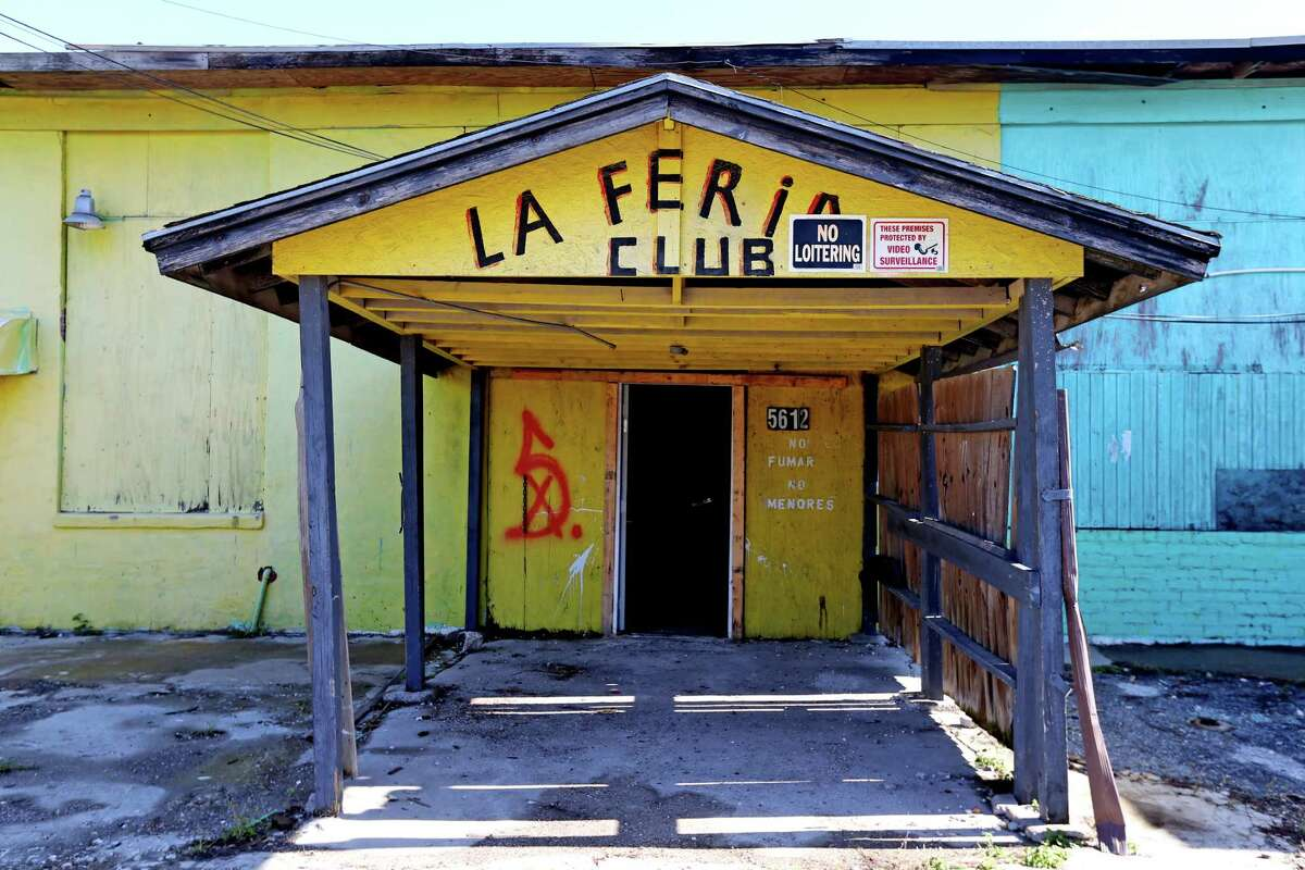 La Feria Club, the sister club where customers met women prostituted against their will, is adjacent to Las Palmas II, along the 5600 block of Telephone Road, that was a former cantina and brothel, where Mexican and Central American women were held against their will, and subjected to beatings, rape and threats of further abuse if they didnâÄôt work as prostitutes Wednesday, Nov. 18, 2015, in Houston, Texas. They worked and lived in rooms above the bar, which was downstairs and drew thousands of customers. The site is one of the largest sex trafficking rings ever busted in Houston.